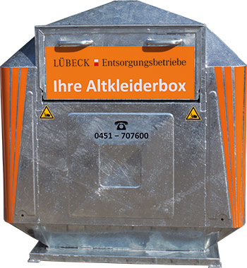 Altkleidersammlung Der Entsorgungsbetriebe Lübeck