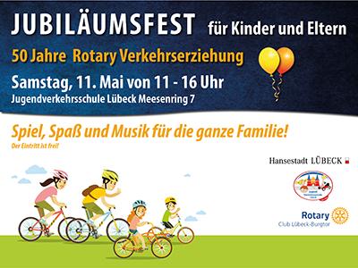 Jubiläumsfest am 11. Mai 2019
