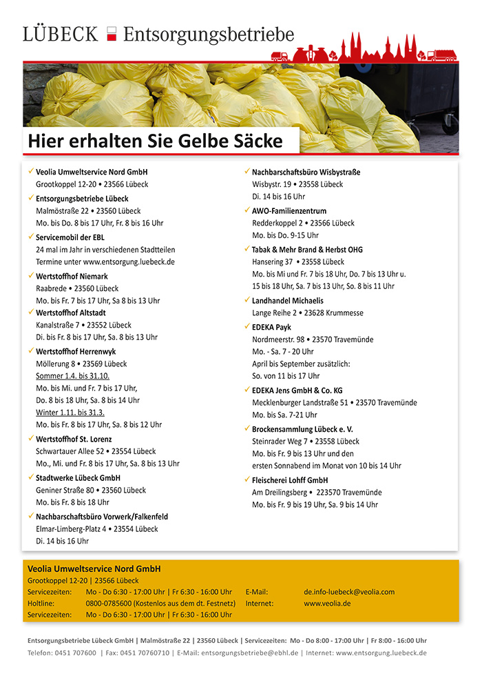 Gelber sack berlin ausgabestellen